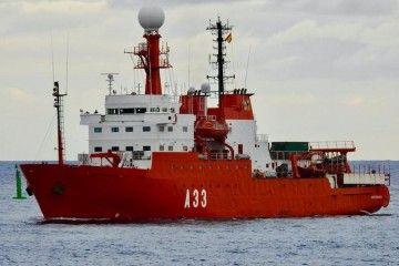 """El BIO """"Hespérides"""" regresa de Las Palmas a Cartagena"""