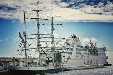 """El buque-escuela sueco """"Gunilla"""""""