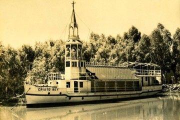 """La iglesia flotante del río Paraná """"Cristo Rey"""""""