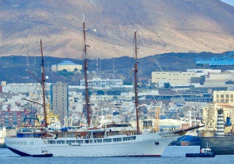 """El buque """"Sea Cloud II"""", camino de ASTICAN"""