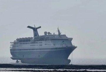 """El buque """"Magellan"""", en la última etapa de su vida marinera"""