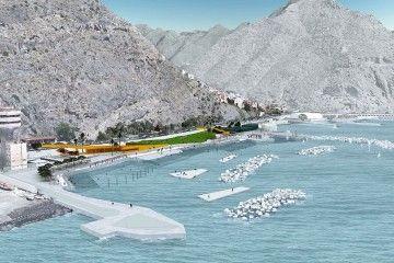 Panorámica del proyecto del litoral de Valleseco