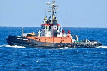 "El remolcador ""Fairplay Bentayga"" navega rumbo a Rotterdam"