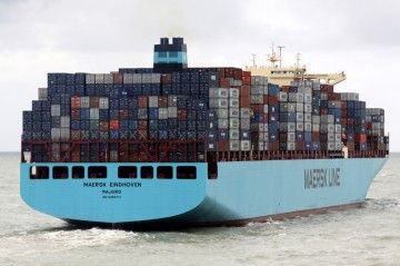 """El buque """"Maersk Eindhoven"""", noticia en el sector"""