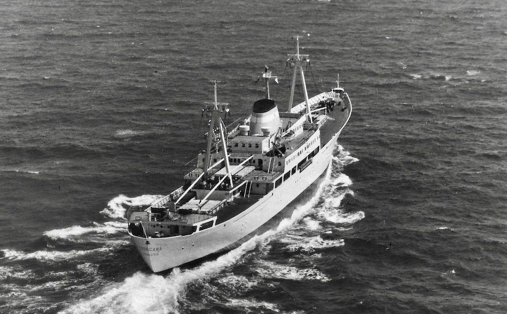 Era un barco bonito, primero de un trío construido en Sevilla