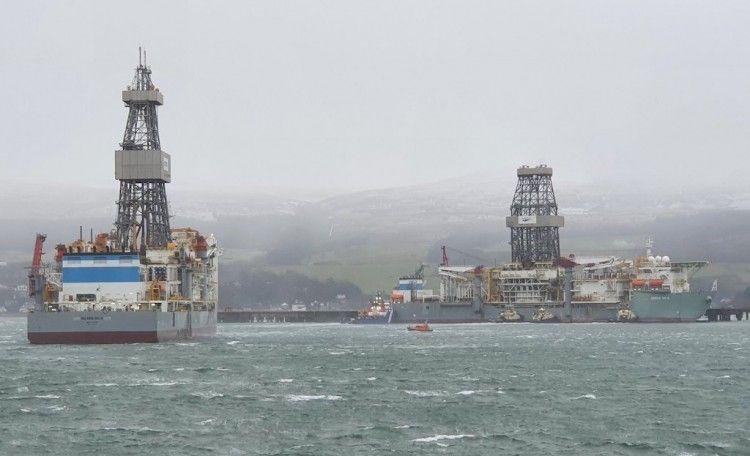 """Los buques """"DS-4"""" y """"DS-8"""", motivo de alarma en Escocia"""