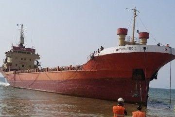 """El buque """"Mohamed 1"""", ex """"Arriaga"""", varado para desguace en Pakistán"""