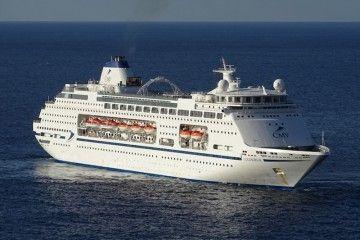 """El buque """"Columbus"""", en una escala en Funchal"""