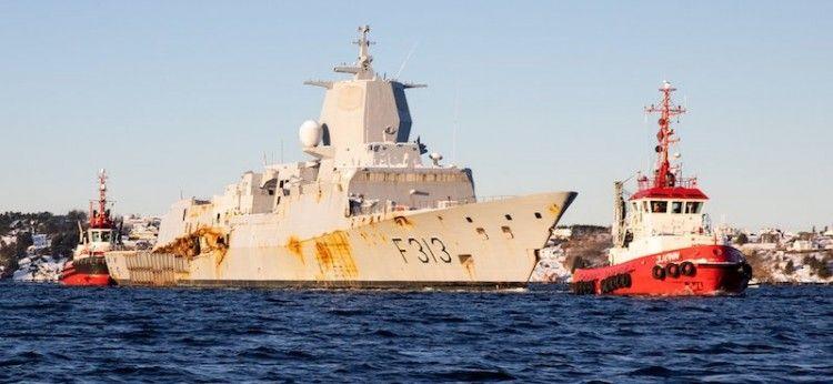 La fragata será desguazada en Noruega
