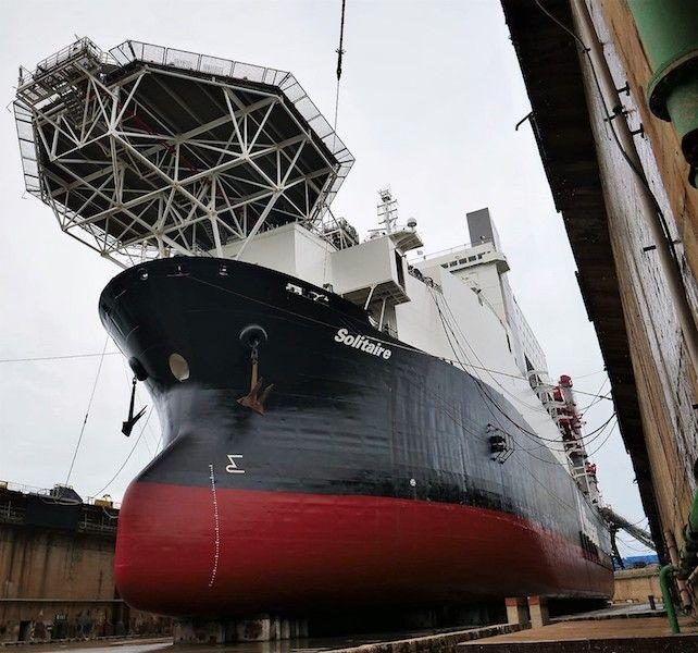 El origen de este buque es un antiguo bulkcarrier de 1972