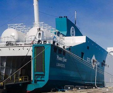 """El buque """"Marie Curie"""", en el puerto de Cádiz"""