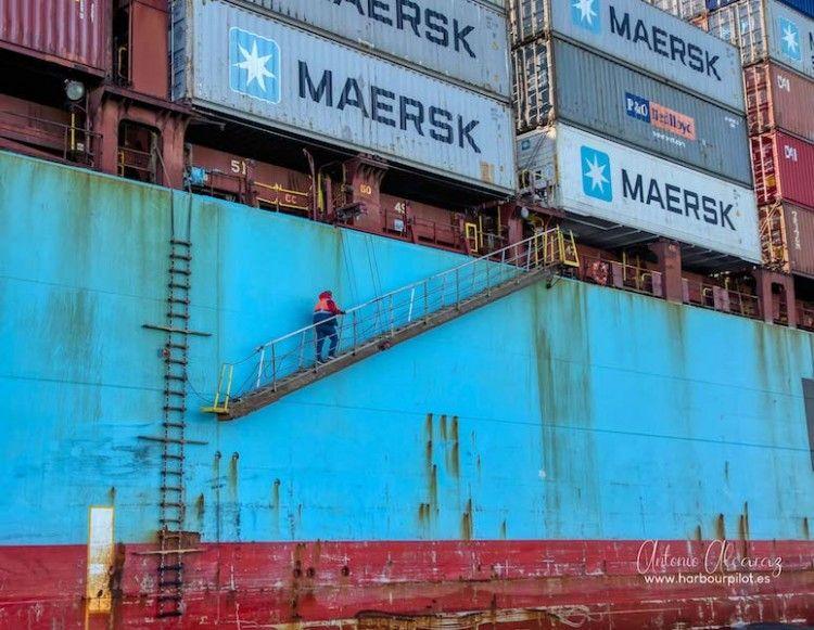 Maersk es el mayor operador del mundo en buques portacontenedores