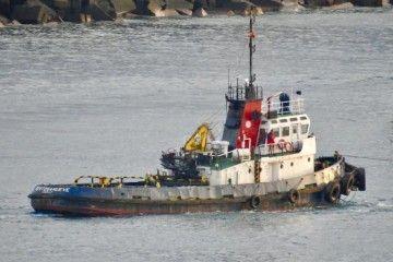 """El remolcador """"Sertosa Nueve"""", camino del desguace"""