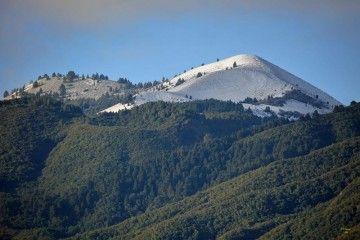 El Pico Birigoyo ha amanecido cubierto de nieve