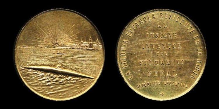 Moneda acuñada por la colonia española en La Rioja de Argentina