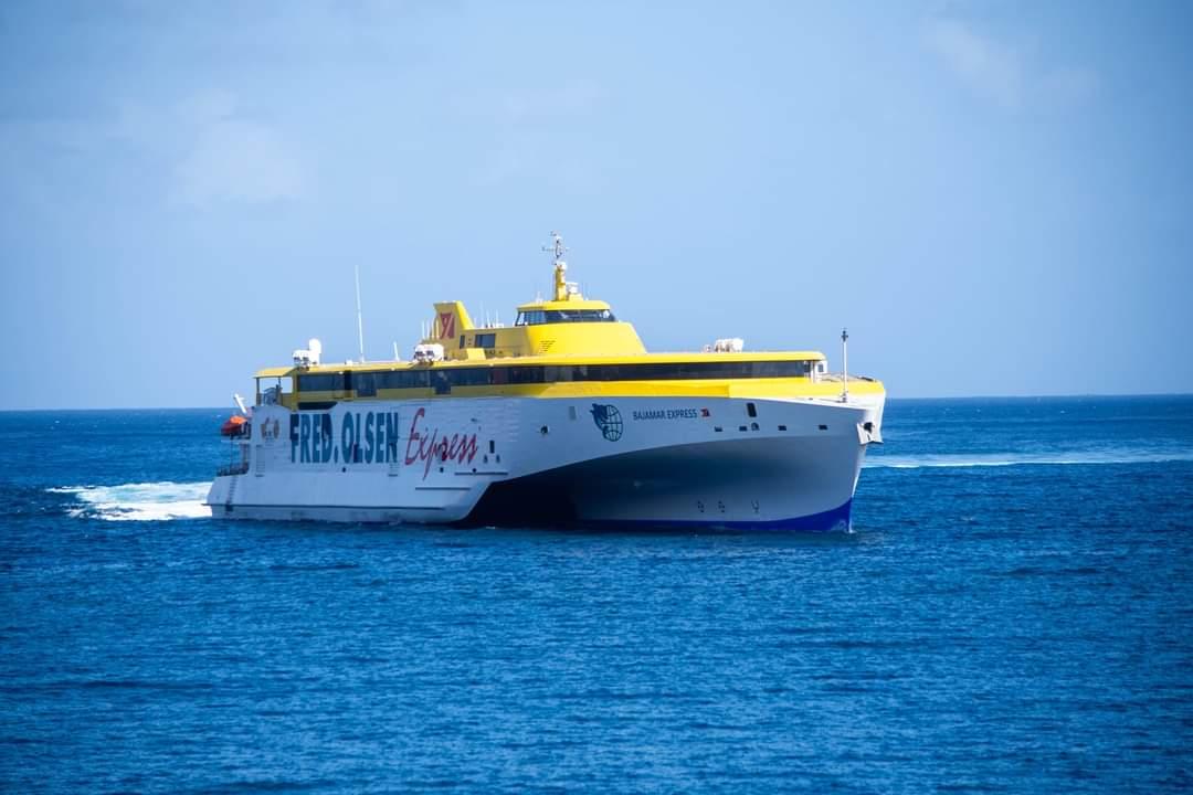 """""""Bajamar Express"""", la gran novedad de Fred. Olsen Express en 2020"""