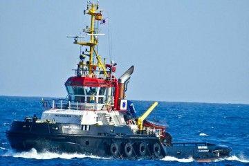 """El remolcador """"Fairplay Nublo"""" navega rumbo a Rotterdam"""