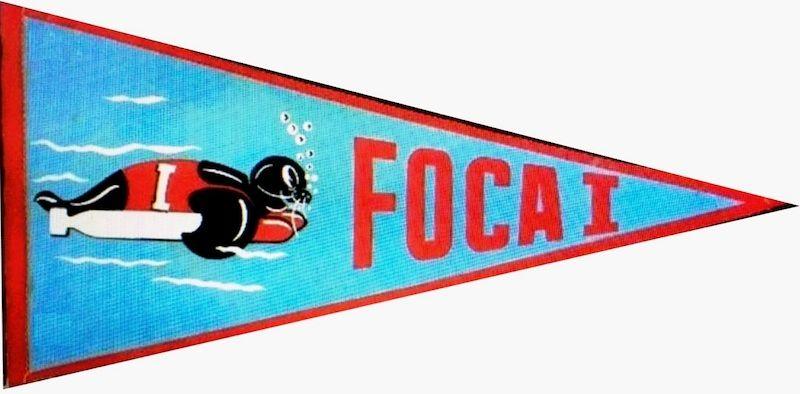 "Banderín del submarino ""Foca 1!"