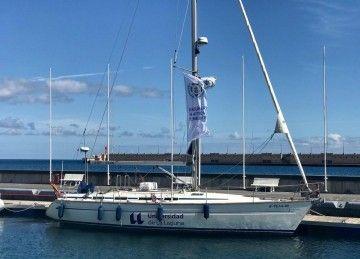 Este es el velero de la Escuela de Náutica de Tenerife