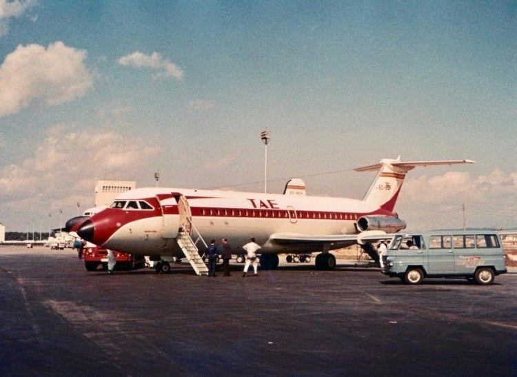 BAC 1-11 de TAE, primer reactor de la citada aerolínea española