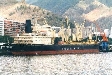 """""""Guadalupe I"""", uno de los dos Dnieper que tuvo Trasatlántica"""