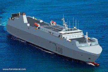 """""""Reina Ysabel"""" será el nombre del nuevo buque logístico del Ejército de Tierra"""