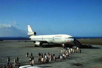 Douglas DC-10 de Spantax EC-DEG en Tenerife Sur