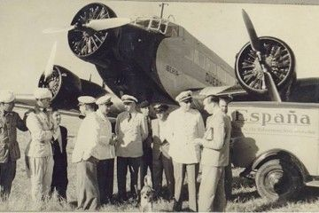 """Junkers Ju-52 EC-AAK """"Duero"""""""