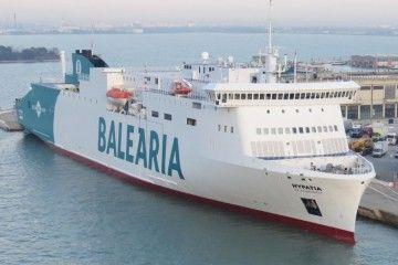 """El ferry """"Hypatia de Alejandría"""", al servicio de Balearia en las líneas de Melilla"""