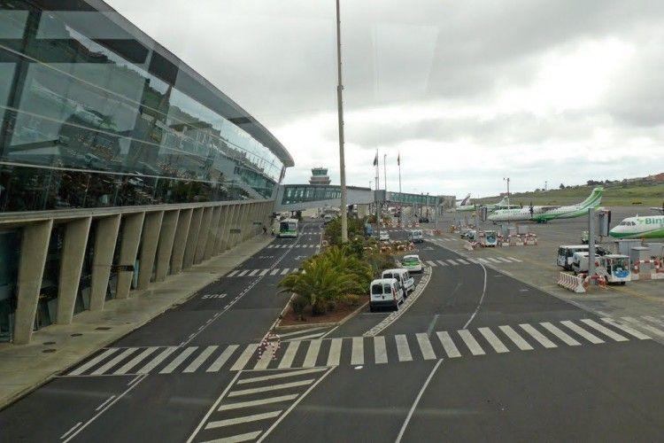 Vista parcial del aeropuerto Tenerife Norte Los Rodeos
