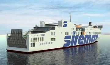 El futuro buque tiene los trazos típicos de Visentini