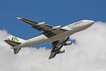 Doce aviones B-747 han volado para Pullamantur Vamos Air
