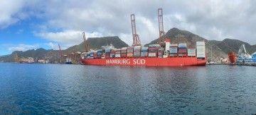 """El buque """"Cap San Lorenzo"""", una de las unidades destacadas de 2021 en Tenerife"""