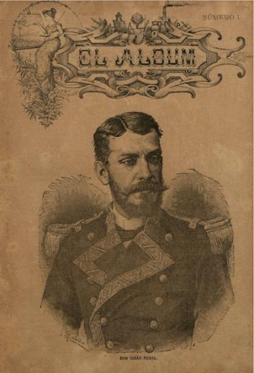 """Portada del número 1 de la revista """"El Álbum"""" (1891)"""