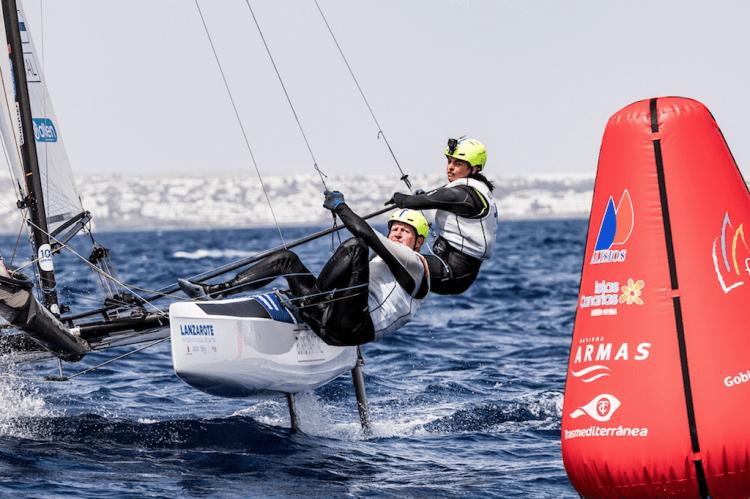 Lanzarote International Regatta es clasificatoria de los JJ.OO.