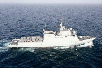 "El BAM ""Furor"" navega hacia el Golfo de Guinea"