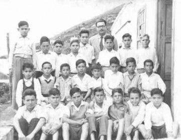 Grupo del maestro Juan Torres Hernández en Las Indias (1954)