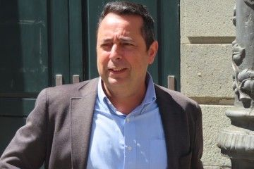 David Hernández Cabrera, presidente de la Asociación de Consignatarios de Buques de Santa Cruz de Tenerife