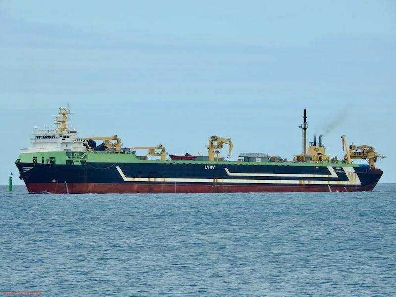 Se trata de segundo buque mayor del mundo en su clase