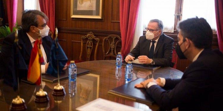 Reunión con el presidente de la Ciudad Autónoma