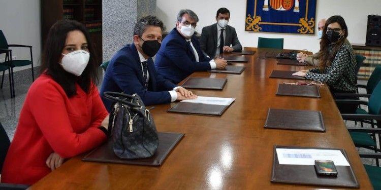 Reunión con la delegada de Melilla