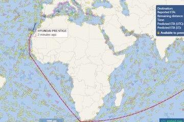 HMM figura entre las navieras que alteran su ruta habitual por el canal de Suez