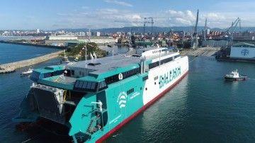 El nuevo catamarán de Balearia es un hito en la historia de la naviera