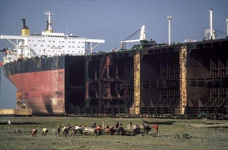 Se desguazan pocos petroleros, a pesar de los bajos fletes