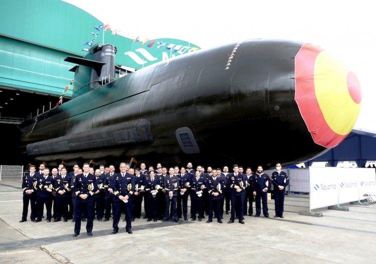 """Primera dotación del submarino S-81 """"Isaac Peral"""""""