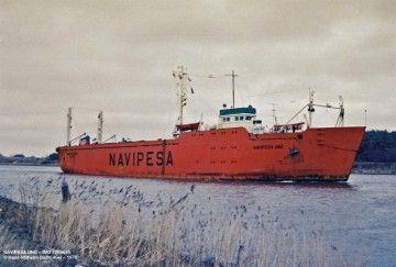 """El buque de cargas pesadas """"Navipesa Uno"""""""