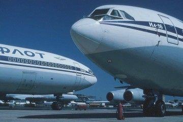 Dos avisen Ilyushin Il-86 de Aeroflot