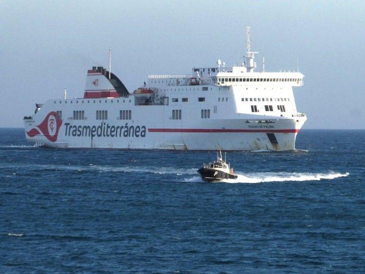 """El buque """"Ciudad de Palma"""" pasará a bandera española"""