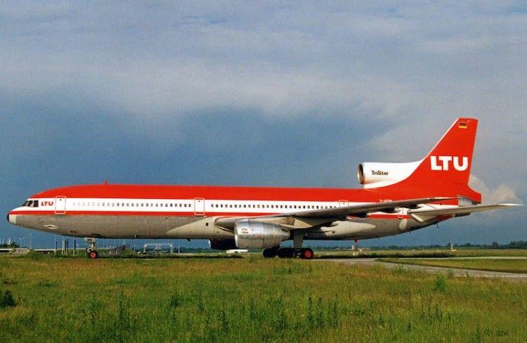 L-1011 TriStar D-AERN en el aeropuerto de Munich