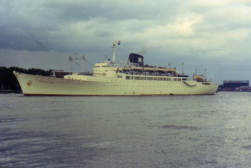 """El trasatlántico """"Cabo San Roque"""", un hito de la construcción naval española"""